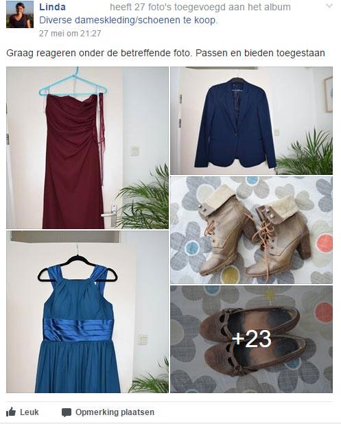 kleding verkopen
