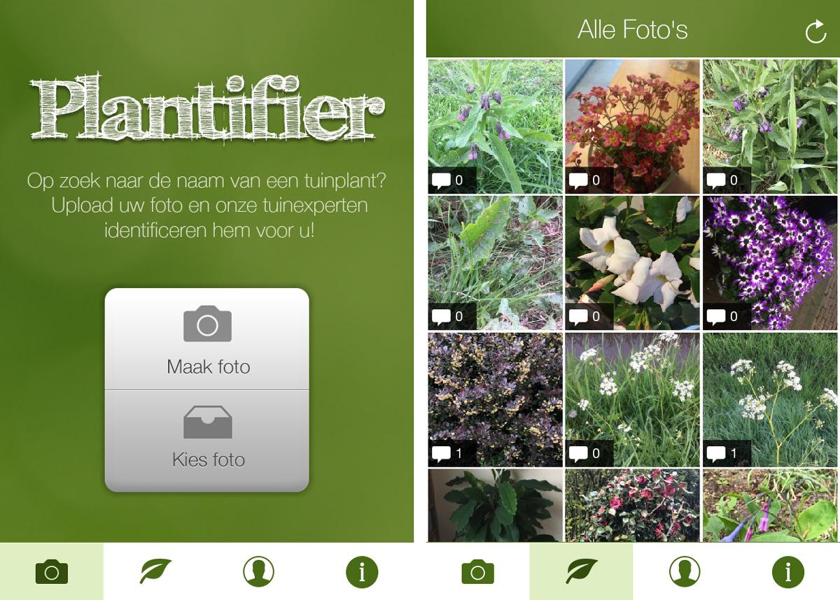 Mijn Tuin App : Apps voor het identificeren en verzorgen van je planten zaailingen